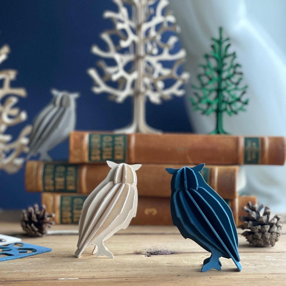Lovi Owls and old books