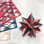 Lovi Star, tricolor, wooden 3D puzzle