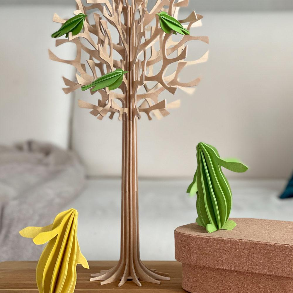 Lovi Tree 34cm with light green Minibirds