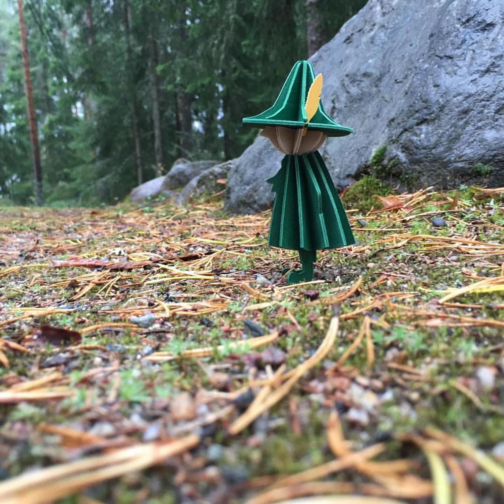 Snufkin by Lovi on the path