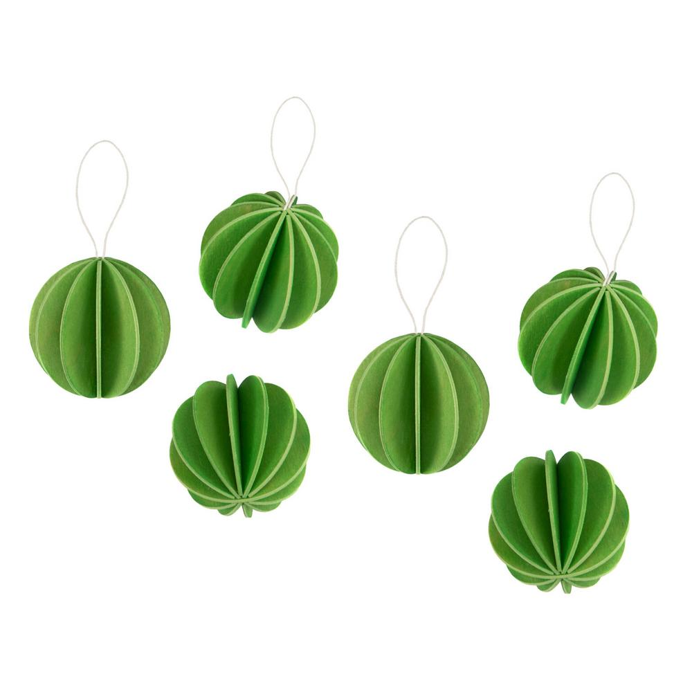 The Original Lovi Baubles 4cm, light green, wooden 3D puzzles