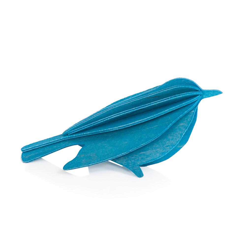 Lovi Bird, blue, wooden 3D puzzle