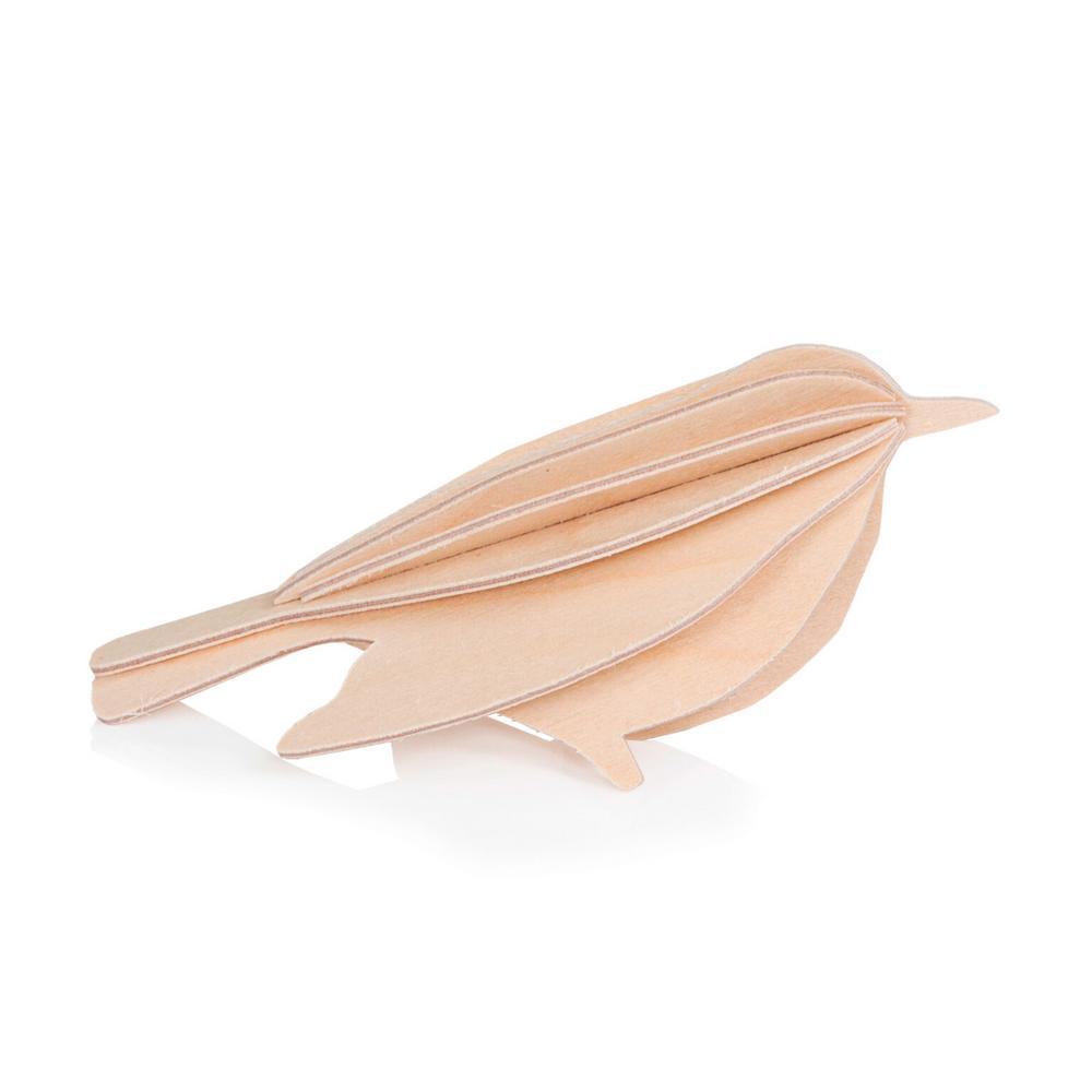 Lovi Bird, natural wood, wooden 3D puzzle