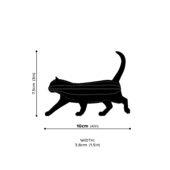 Lovi Cat, wooden 3D puzzle, measures
