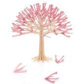 Lovi Cherry Tree 22cm, light pink, wooden 3D decoration