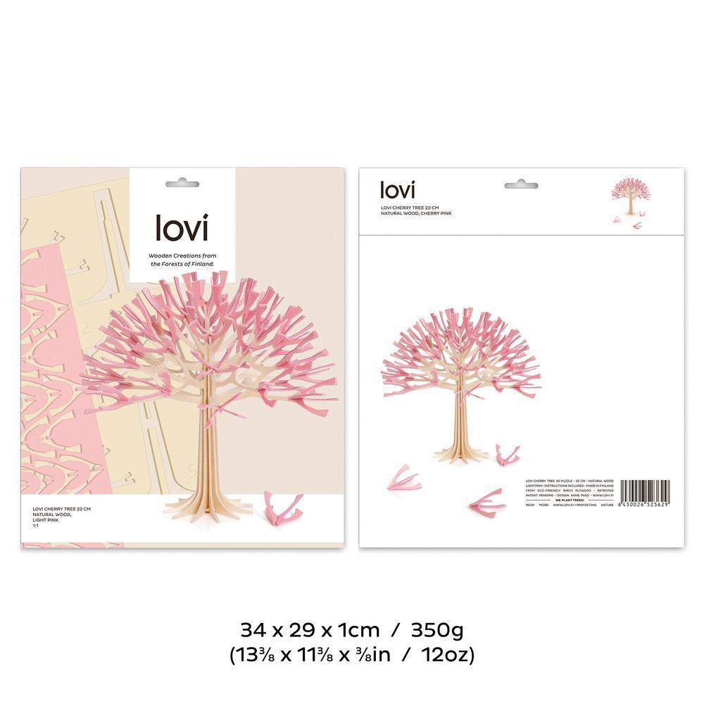Lovi Cherry Tree 22cm, package