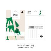 Lovi Elf 12cm, wooden 3D puzzle, package with measures