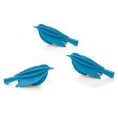 Lovi Minibird, blue, wooden 3D puzzle
