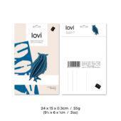 Lovi-pöllö, koottava puinen hahmo, pakkaus, mitat ja paino