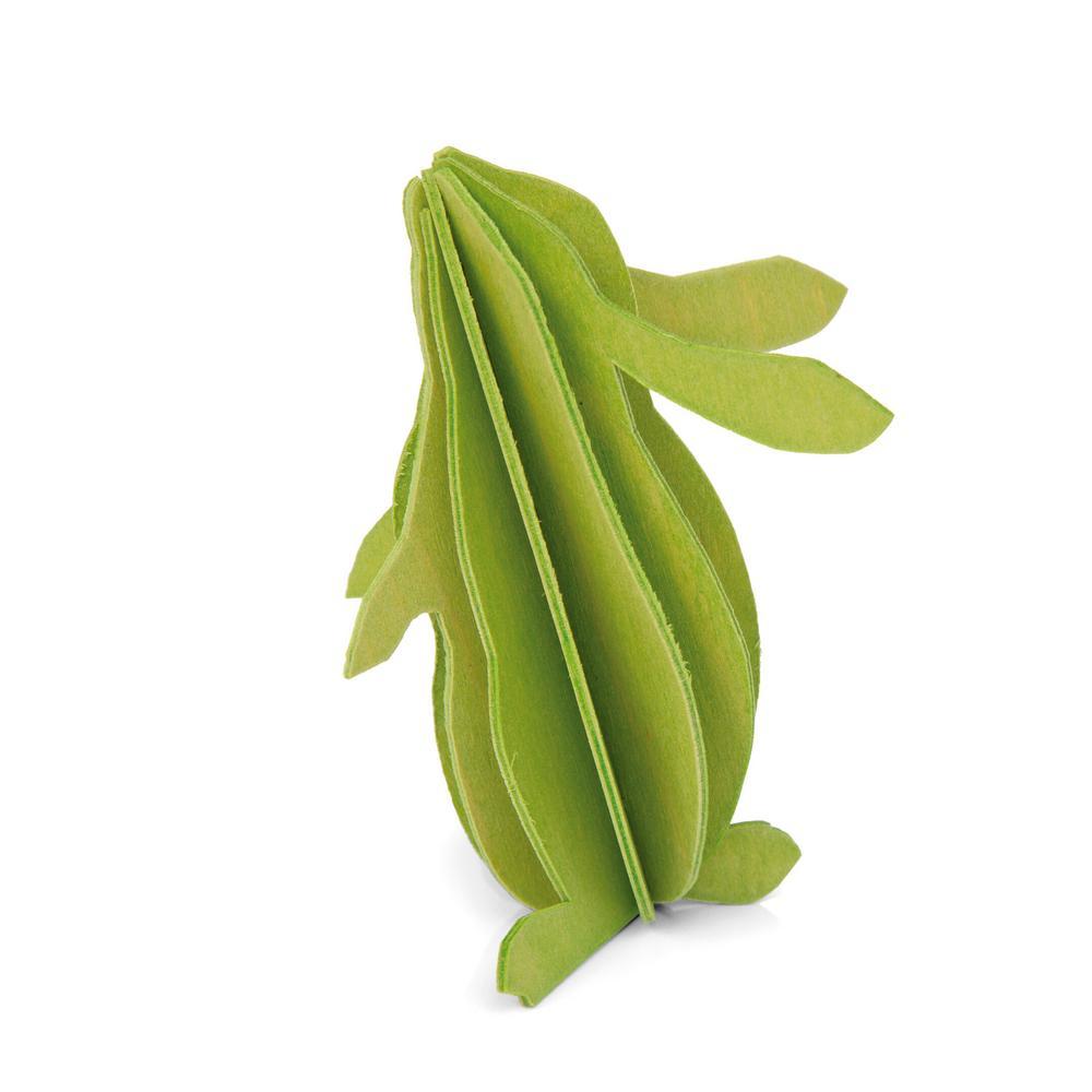 Lovi-pupu, vaaleanvihreä, koottava puinen hahmo