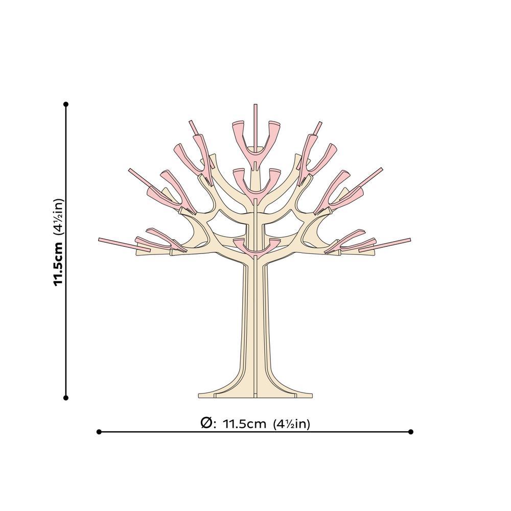 Lovi Season Tree, wooden 3D puzzle, measures