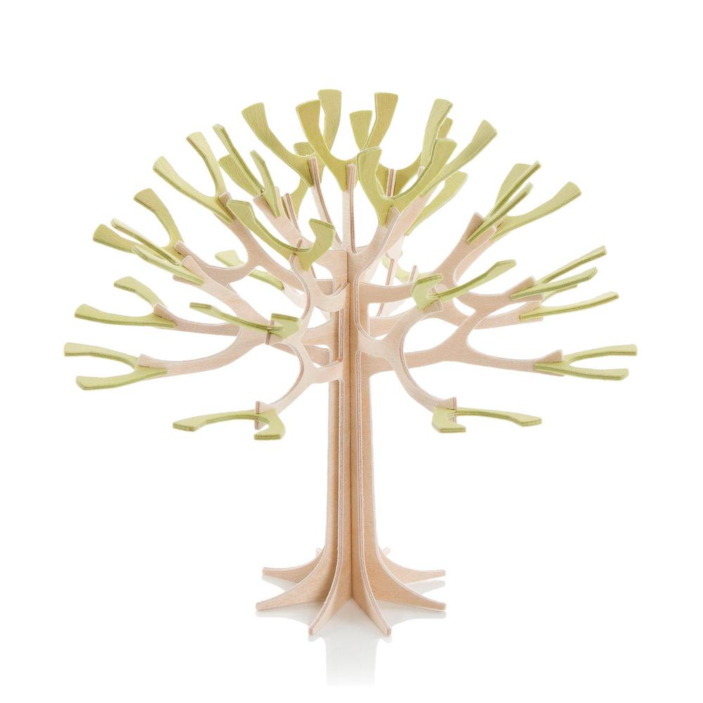 Lovi Season Tree, light green, wooden 3D puzzle