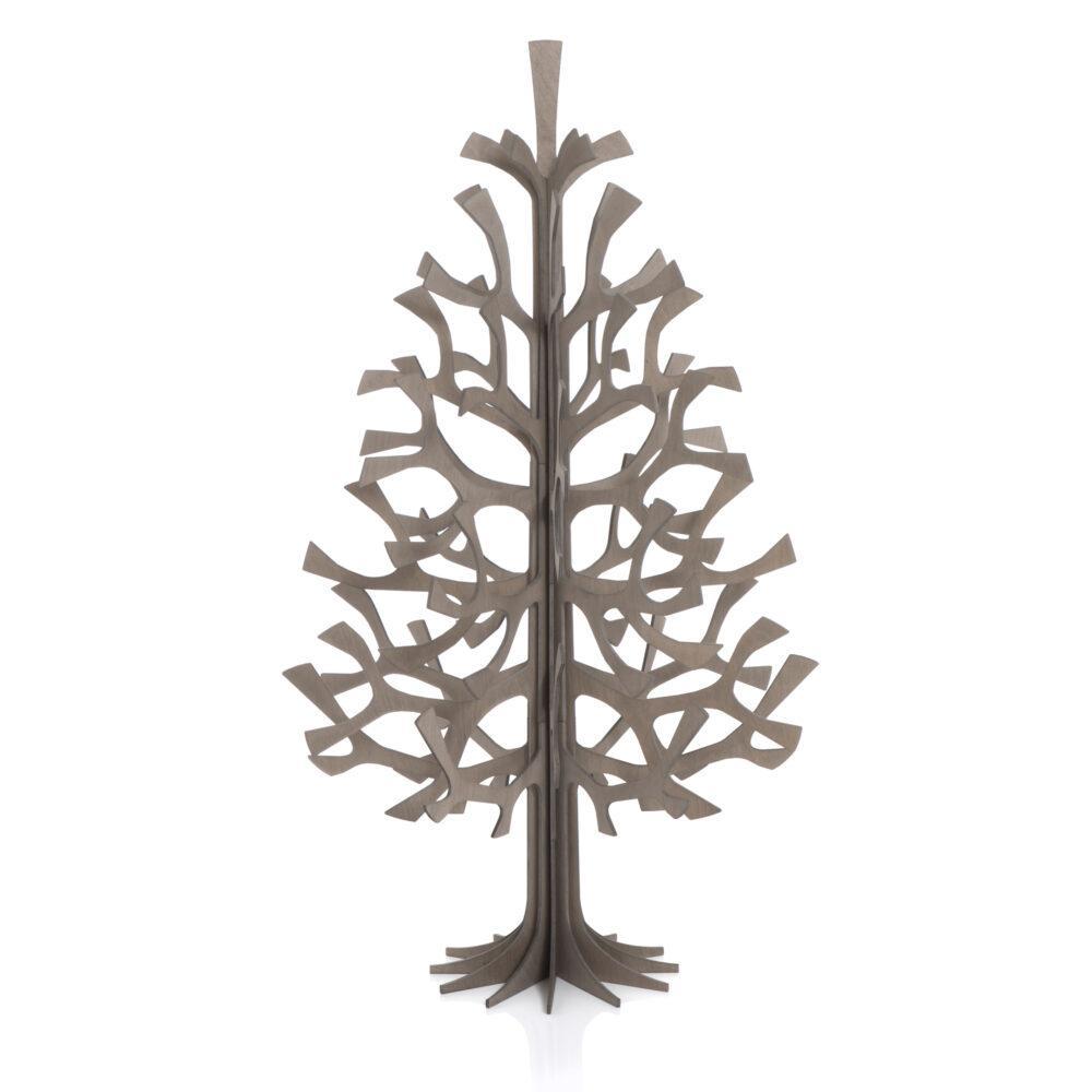 Lovi-kuusi 100cm, harmaa, koottava puinen kuusi