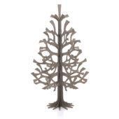Lovi Spruce 100cm, grey, wooden 3D figure