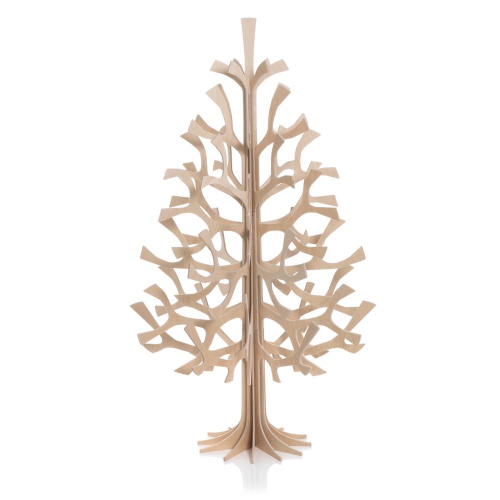 Lovi Spruce 100cm, natural wood, wooden 3D figure