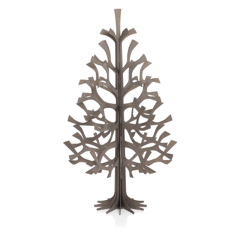 Lovi Spruce 120cm, grey, wooden 3D figure