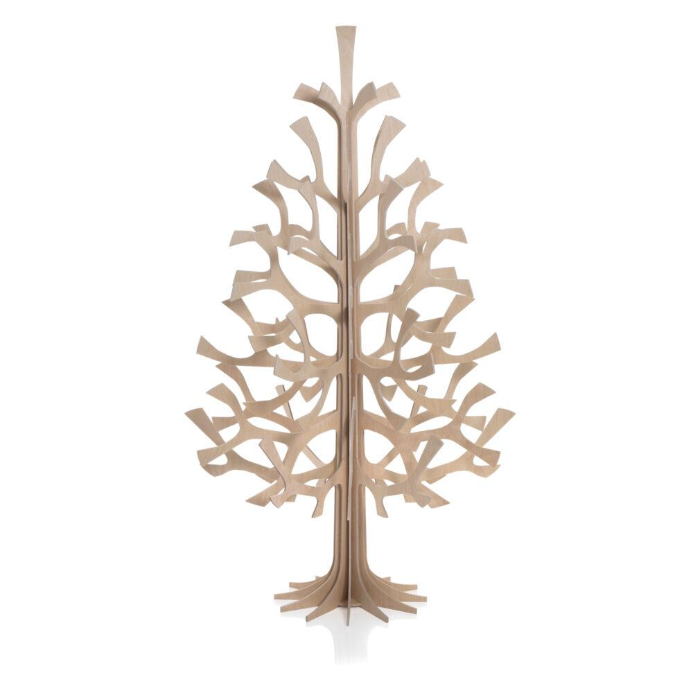 Lovi Spruce 120cm, natural wood, wooden 3D figure