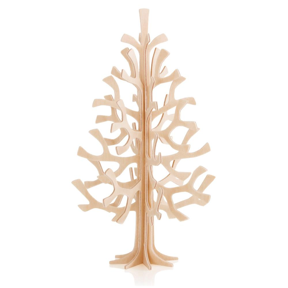Lovi Spruce 14cm, natural wood, wooden 3D puzzle
