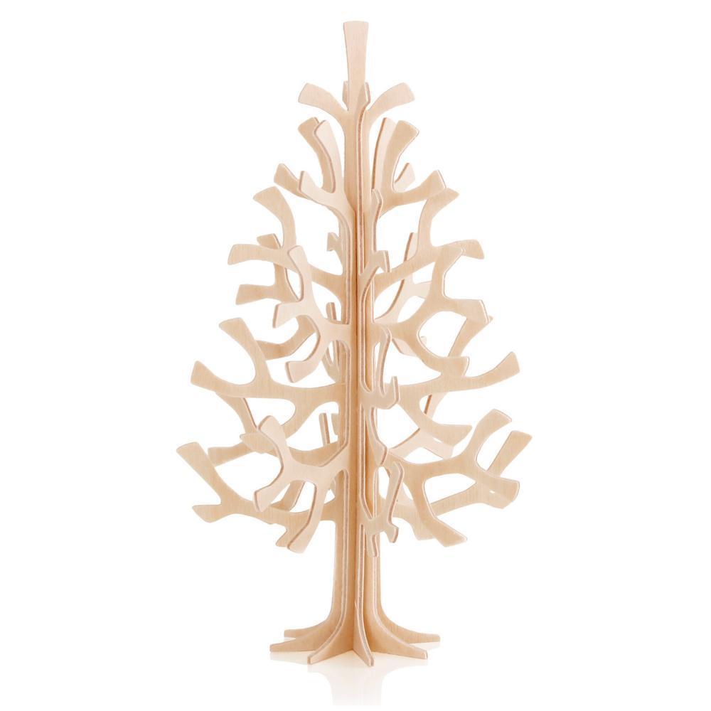 Lovi Spruce 14cm, natural wood, wooden 3D puzzle