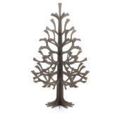 Lovi Spruce 180cm, grey, wooden 3D figure