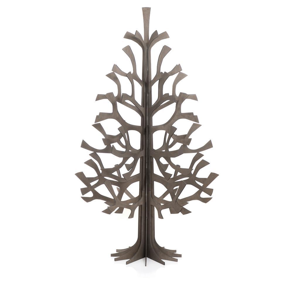 Lovi-kuusi 180cm, harmaa, koottava puinen kuusi