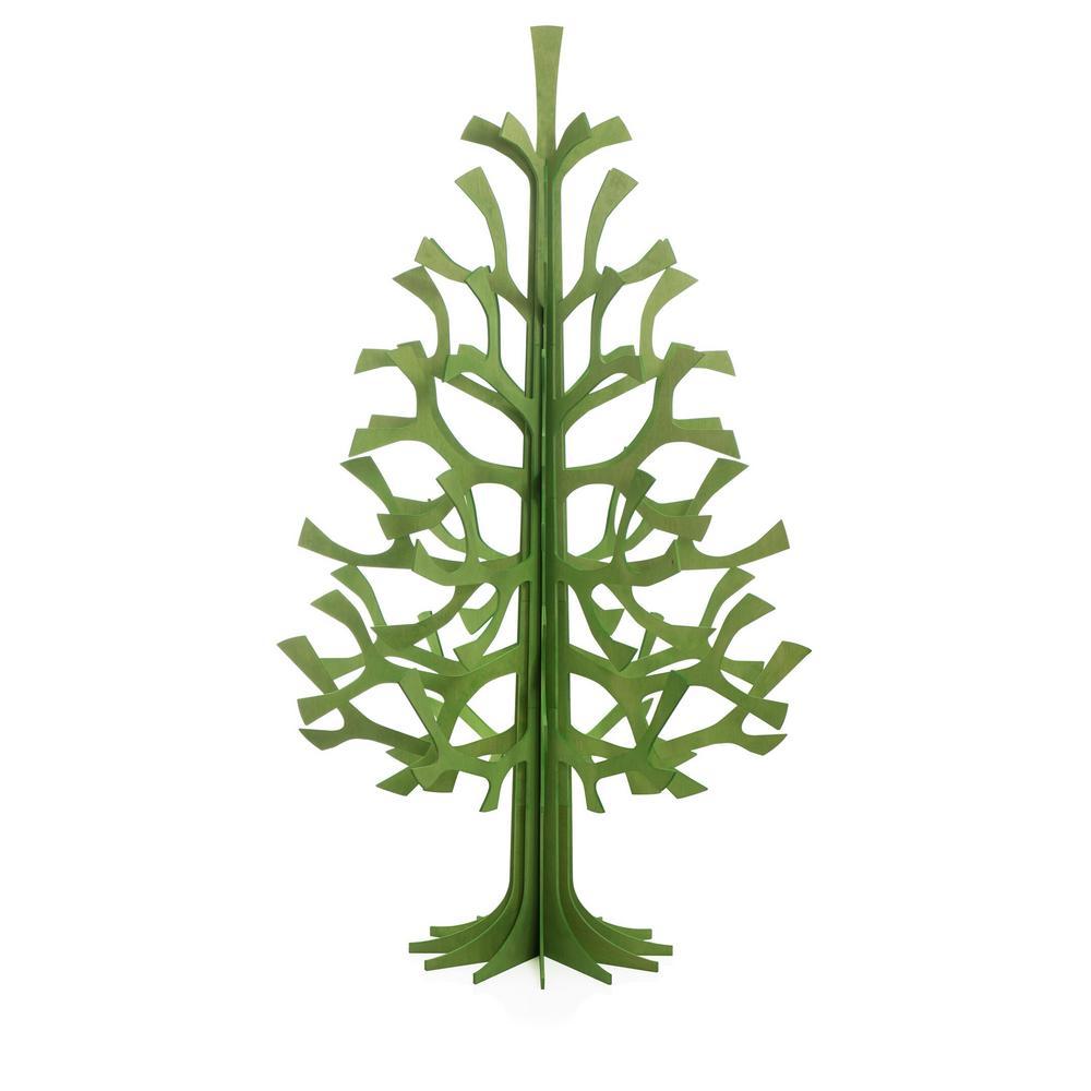 Lovi-kuusi 180cm, vaaleanvihreä, koottava puinen kuusi