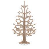 Lovi-kuusi 180cm, puunvärinen, koottava puinen kuusi