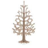 Lovi Spruce 180cm, natural wood, wooden 3D figure