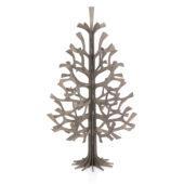 Lovi Spruce 50cm, grey, wooden 3D figure