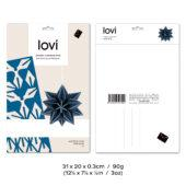 Lovi Star 10cm, wooden 3D puzzle, package with measures