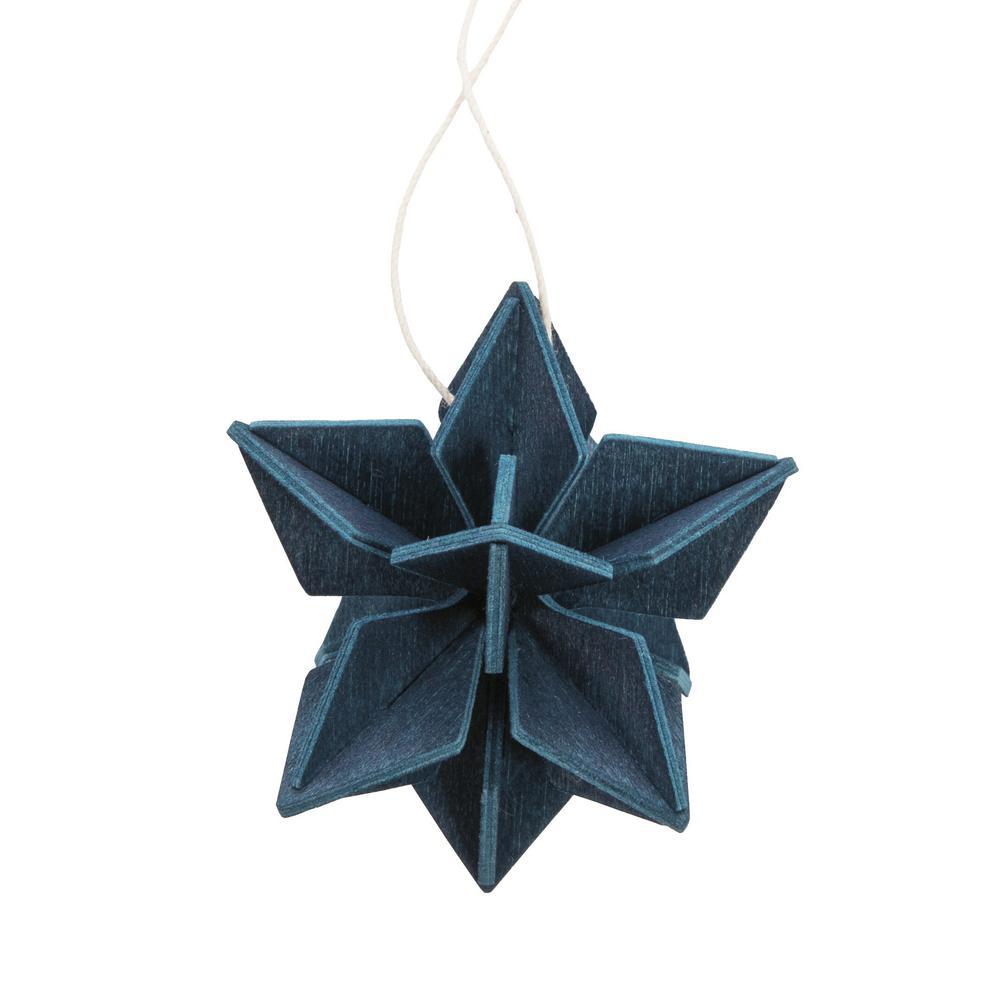 Lovi Star 5cm, dark blue, wooden 3D puzzle