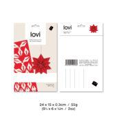 Lovi Star 7cm, wooden 3D puzzle, package with measures