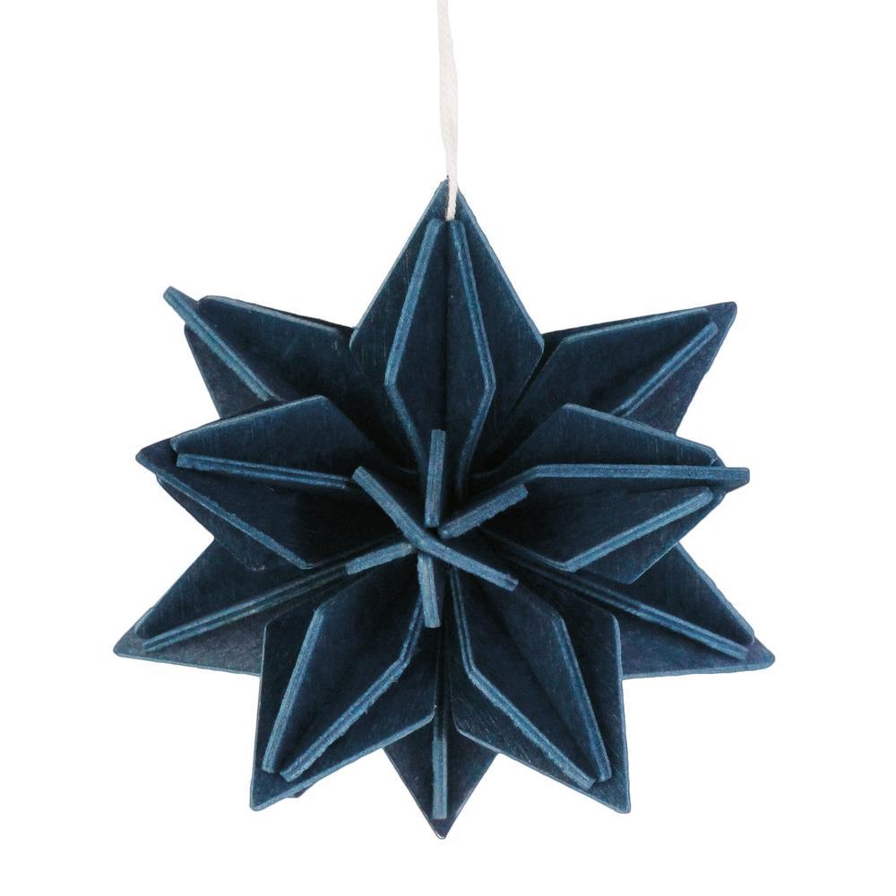 Lovi Star, dark blue, wooden 3D puzzle