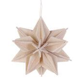 Lovi Star, natural wood, wooden 3D puzzle
