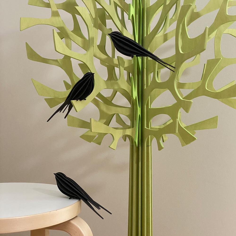 Lovi Swallows in Lovi Trees, wooden 3D puzzles