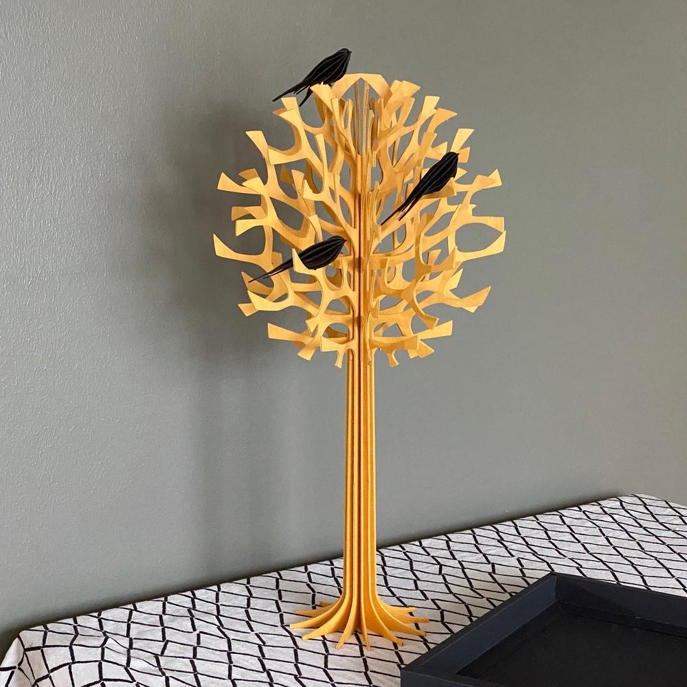 Lovi Tree 55cm with Lovi Swallows, wooden 3D figure