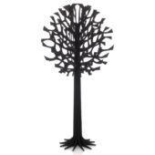 Lovi Tree 108cm, black, wooden 3D figure