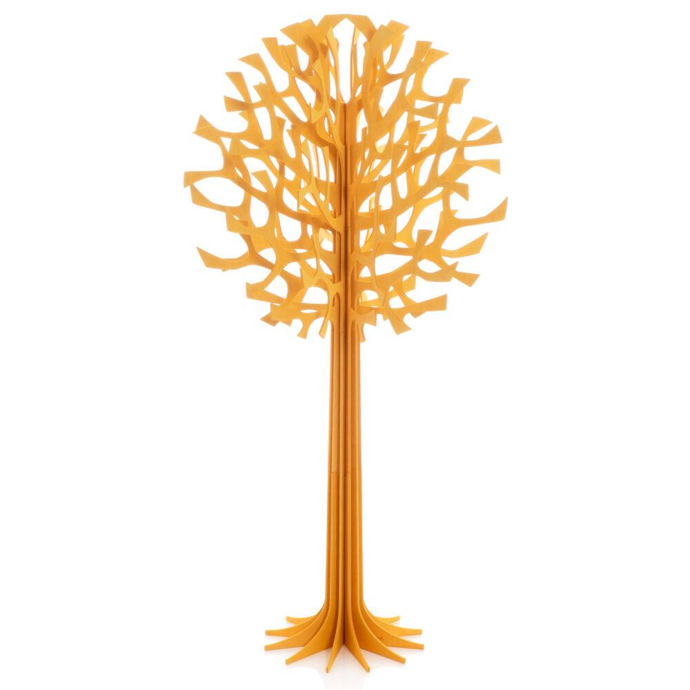 Lovi Tree 108cm, warm yellow, wooden 3D figure