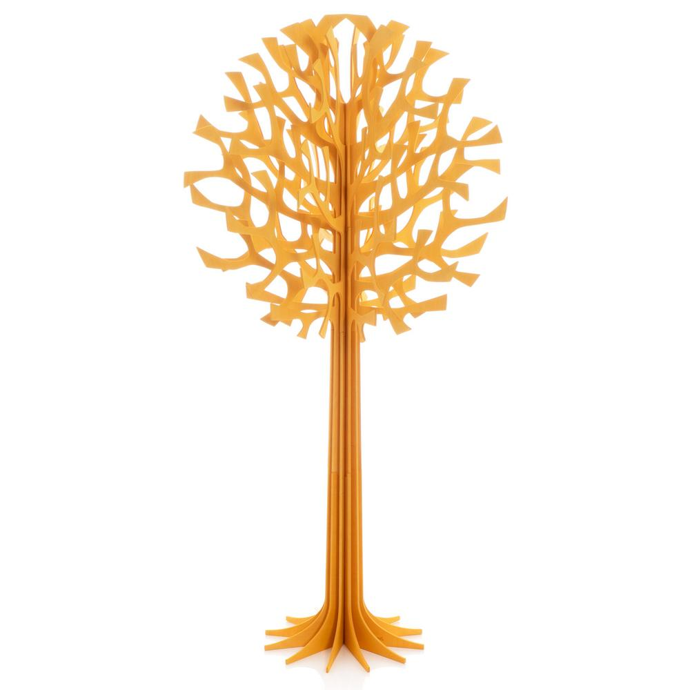 Lovi Tree 108cm, warm yellow, wooden 3D figure