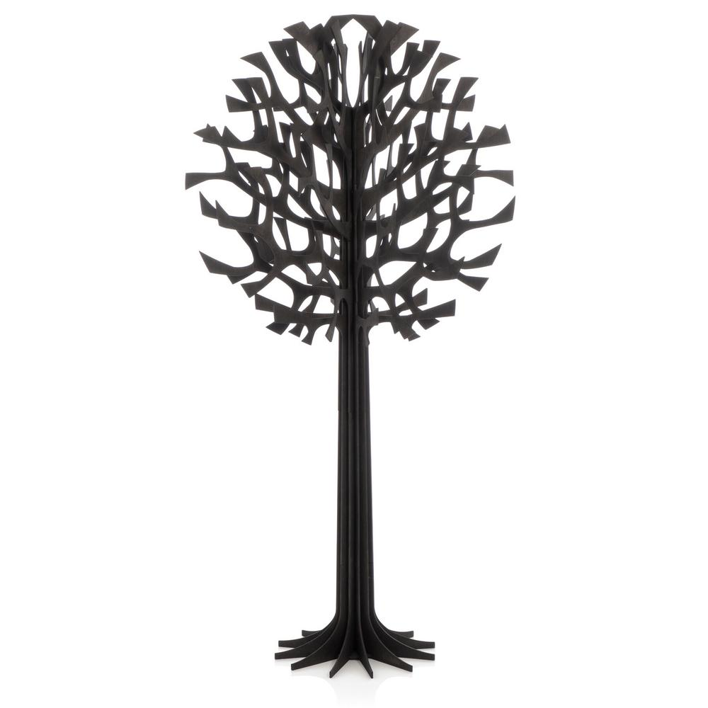 Lovi Tree 135cm, black, wooden 3D figure