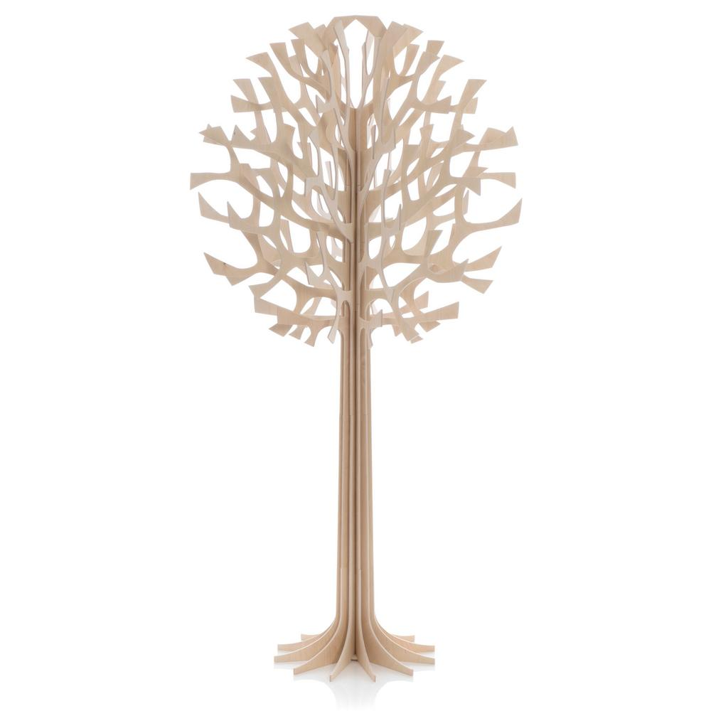 Lovi Tree 135cm, natural wood, wooden 3D figure