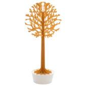 Lovi Tree 135cm, warm yellow with white pot, wooden 3D figure