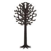 Lovi Tree 16,5cm, black, wooden 3D puzzle