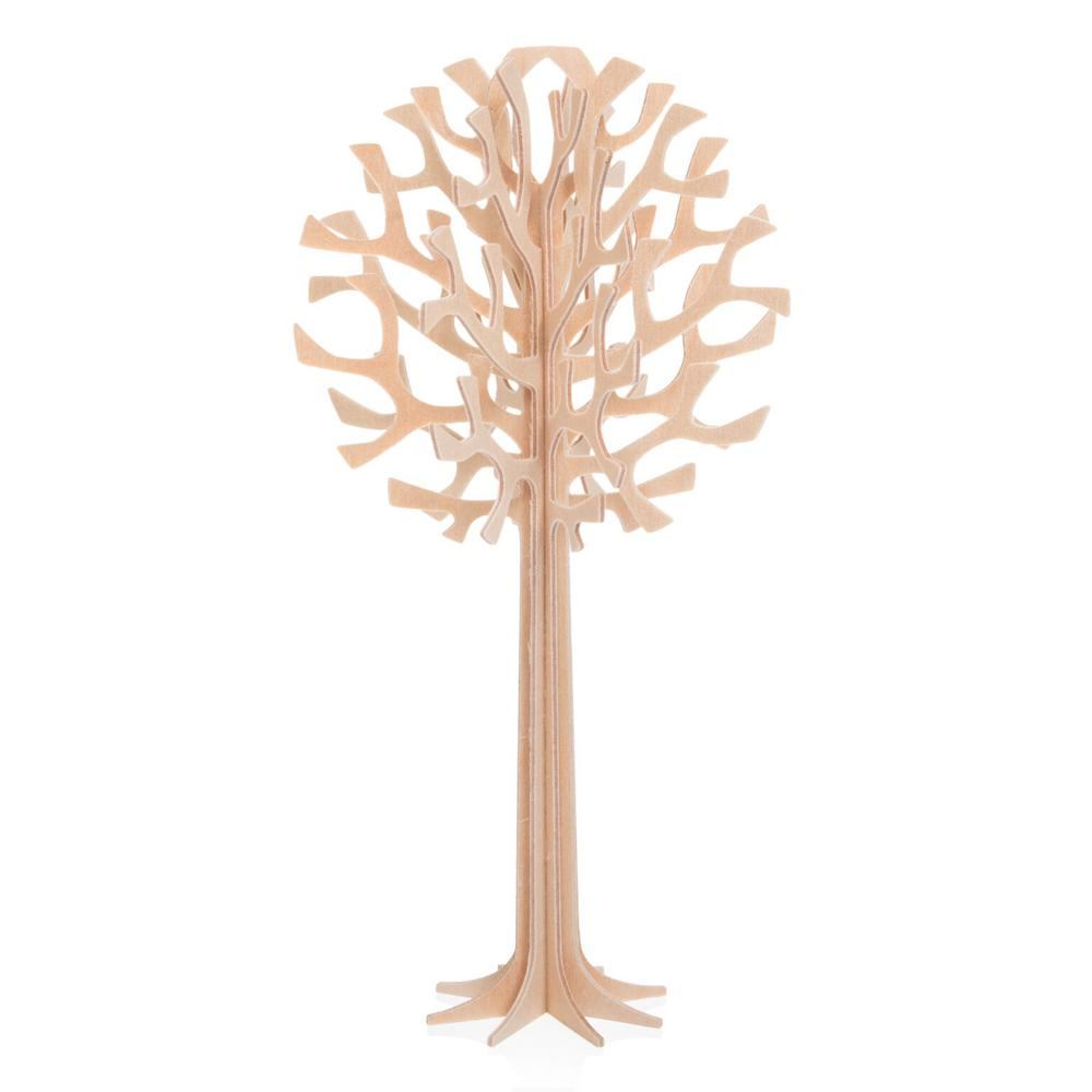 Lovi Tree 16,5cm, natural wood, wooden 3D puzzle
