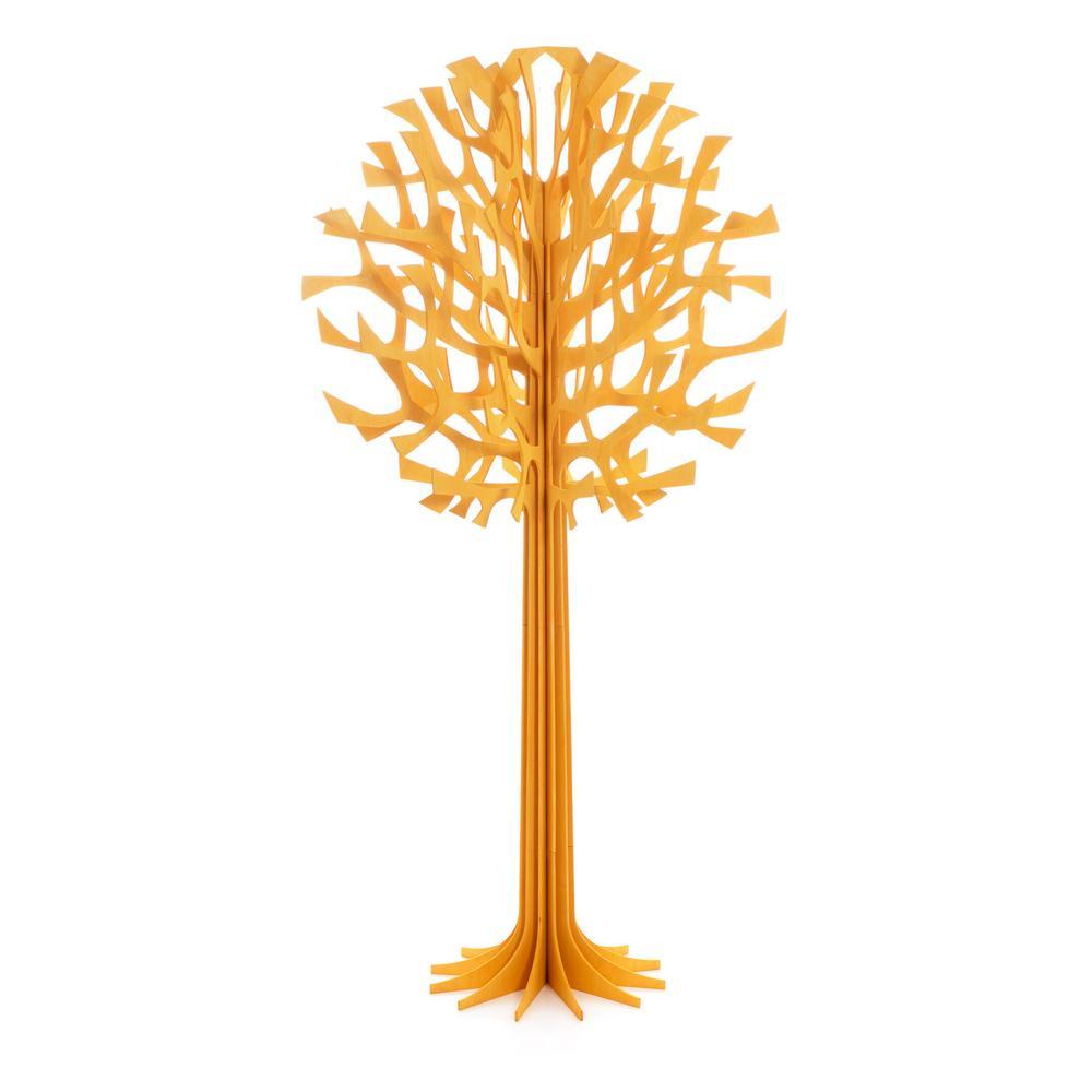Lovi Tree 200cm, warm yellow, wooden 3D figure