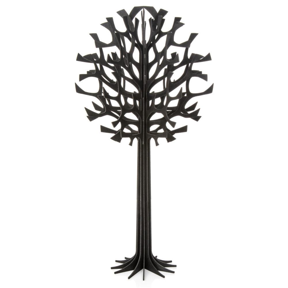 Lovi Tree 55cm, black, wooden 3D figure