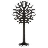 Lovi-puu 55cm, musta, koivuvanerista valmistettu, koottava puu