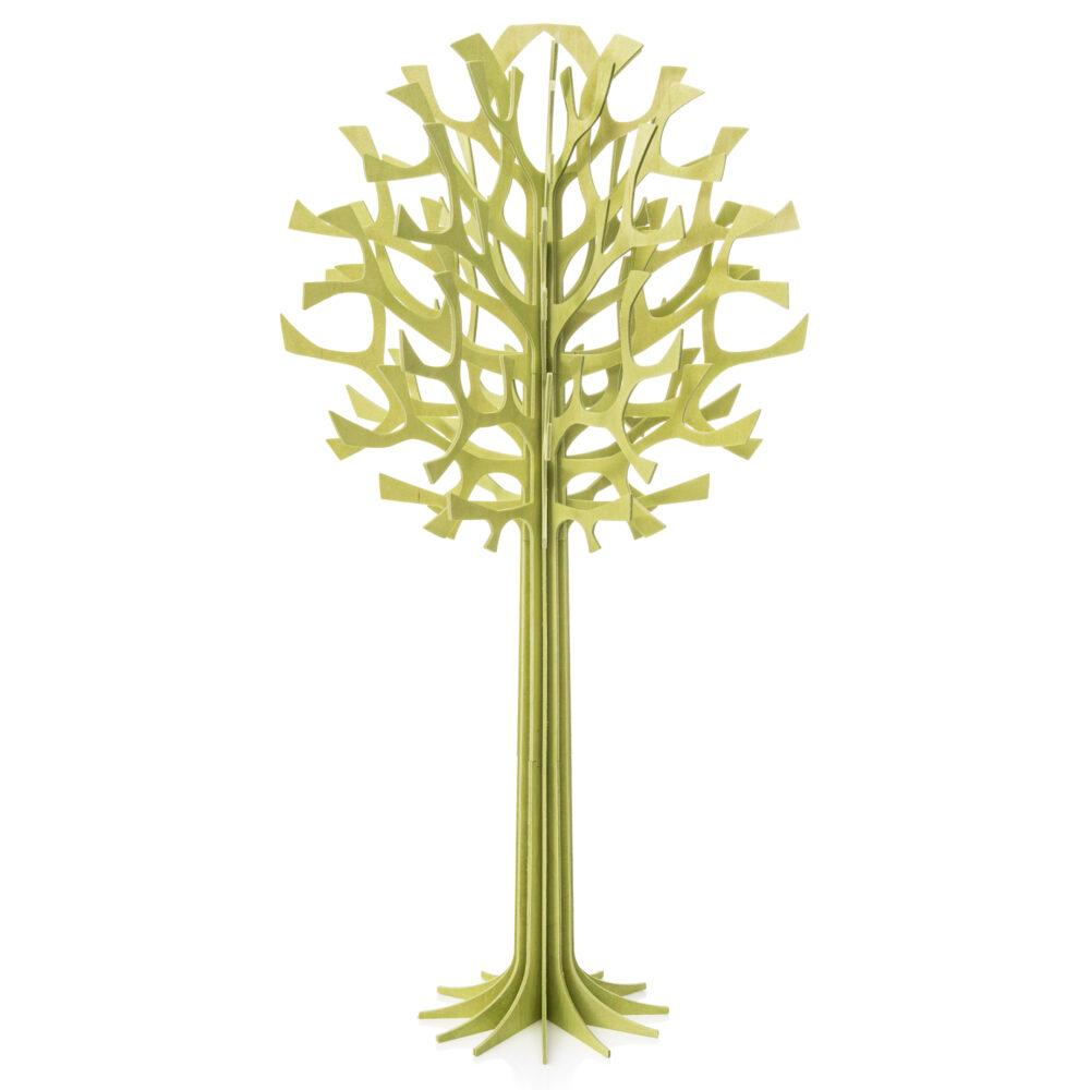 Lovi Tree 55cm, pale green, wooden 3D figure, assemble yourself
