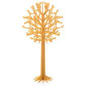 Lovi-puu 55cm, lämminkeltainen, koivuvanerista valmistettu, koottava puu