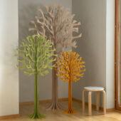 Lovi Trees 108cm, 135cm and 200cm, wooden 3D figures